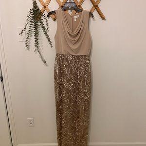 Calvin Klein formal floor length dress